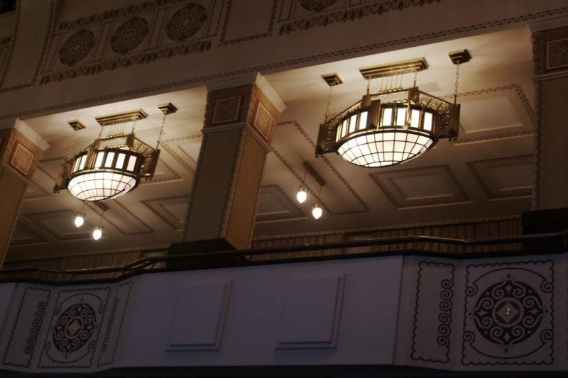 Bad Nauheim, le théâtre Art Nouveau de l'hôtel Dolce