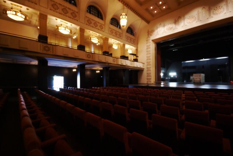 Bad Nauheim, le théâtre Art Nouveau de l'hôtel Dolce, vue d'ensemble