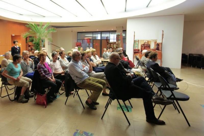 21 mai 2012, l'assemblée générale de l'AAMEN dans les locaux du CIC Est