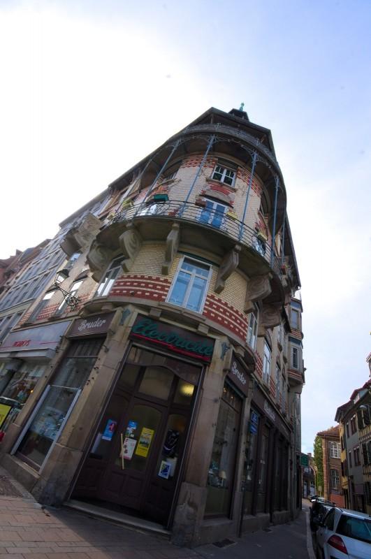 Strasbourg, immeuble Art Nouveau rue du Parchemin