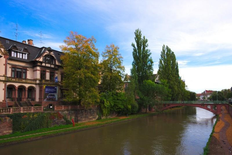 Strasbourg, rue Joseph Massol (pont)