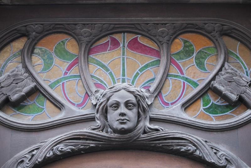 Strasbourg, immeuble Art Nouveau, rue de Castelnau (et rue Foch)