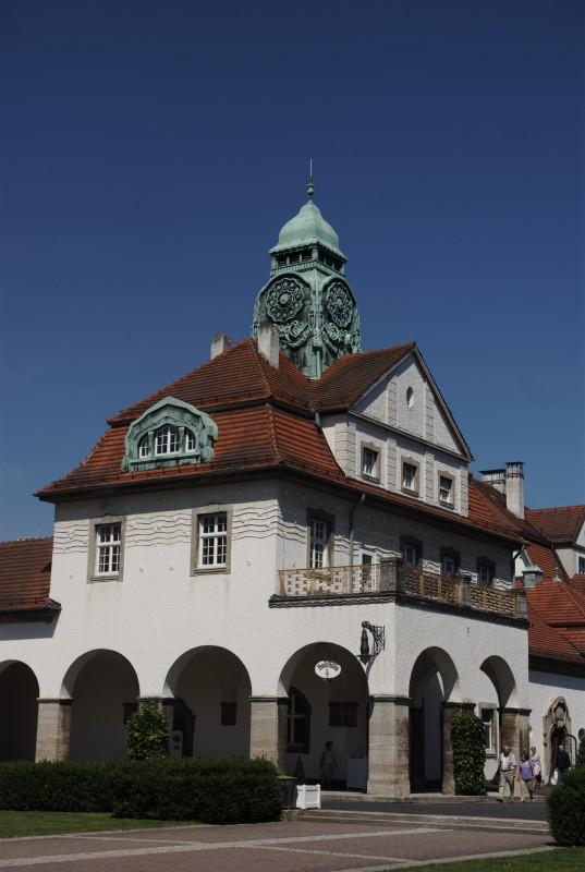 Bad Nauheim, la ville thermale, les bâtiments