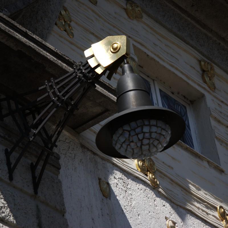Les décorations des badehaus, de style Art Nouveau