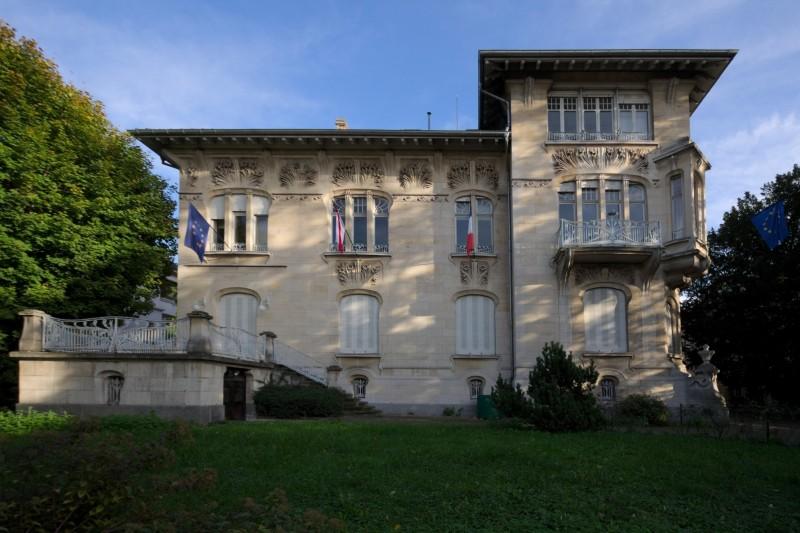 Villa Schützenberger, observatoire européen de l'audiovisuel 76 allée de la Robertsau