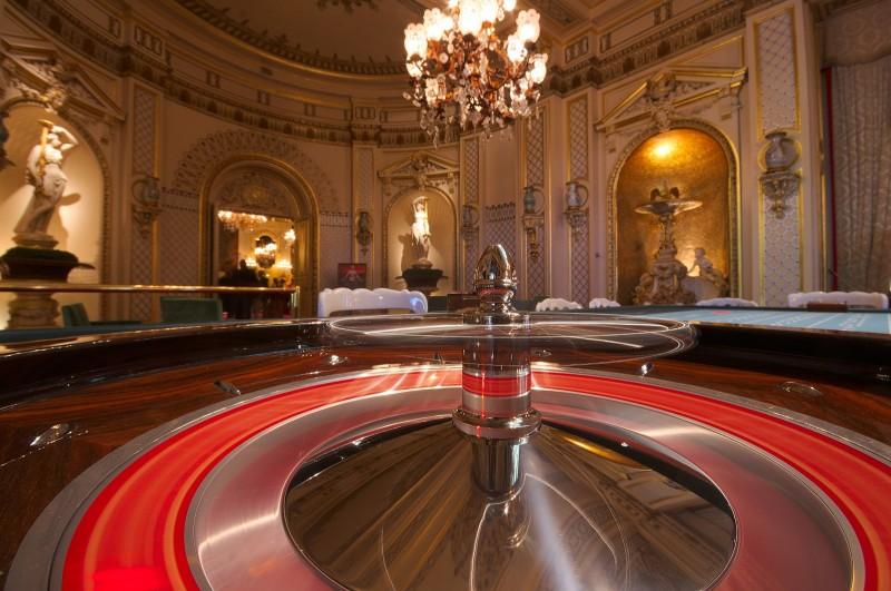 Baden-Baden, casino, la roulette