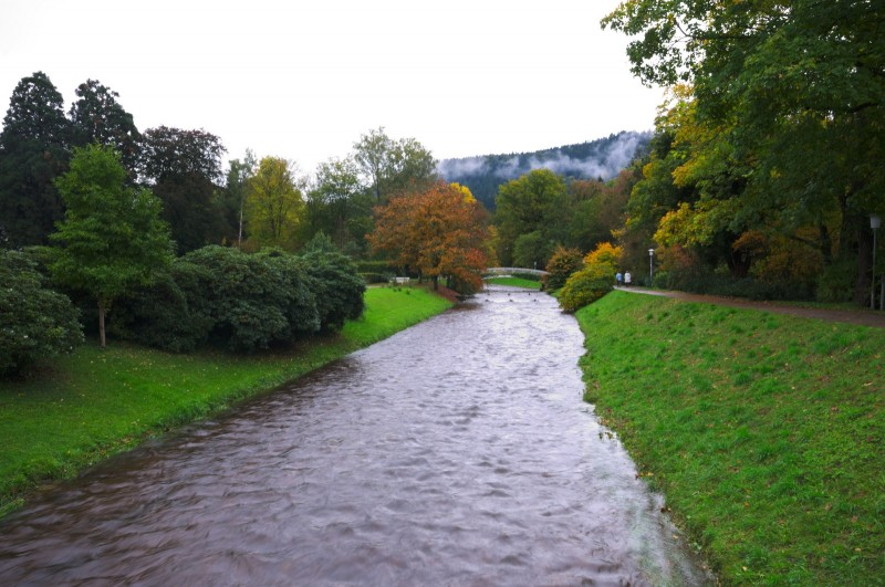 Baden Baden, vue